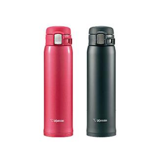 日本新款 象印 SM-SA系列ONE TOUCH 超輕量 保溫瓶 SA60 2入 (6折)