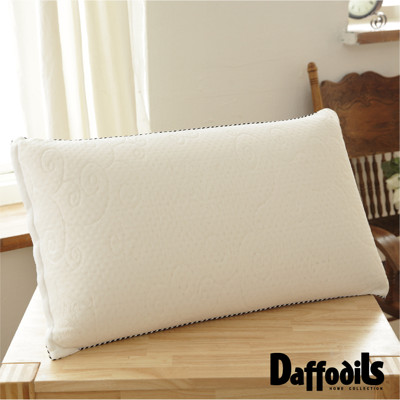 Daffodils 3M防塵蜂巢氣孔100%天然乳膠枕(43*72cm)-[高枕] (5折)