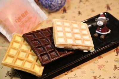 一期一會 - Soft Waffle Q軟鬆餅系列 (黑巧克力、牛奶、草莓、檸檬)12片/任選 (0.3折)