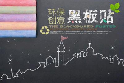 神奇自粘可移動式白板貼/黑板貼 (3折)