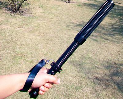 鋁合金安全防衛型手電筒狼牙棒造型 (3.5折)