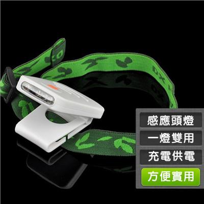 感應式夾帽頭燈 (3.9折)