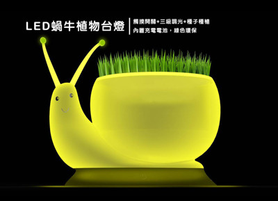 LED生態盆栽觸控檯燈 (4.6折)