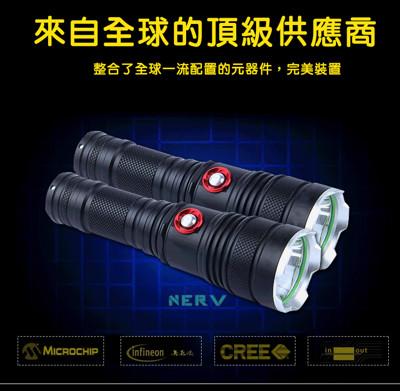 L2<暗黑騎士>強光智能防身手電筒 (4.9折)