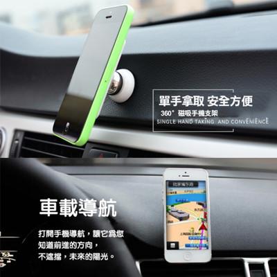 磁吸式多功能車載手機架(圓款) (4.6折)