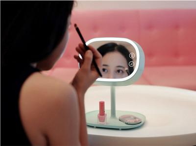 創意多功能充電式LED化妝鏡臺燈 (6.9折)