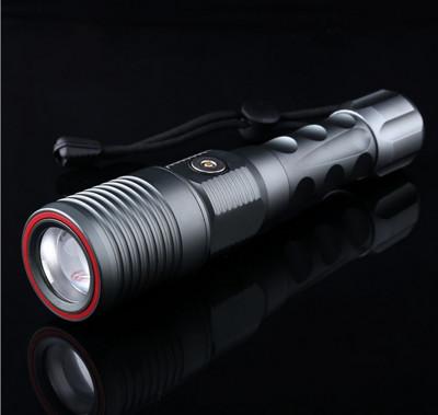 L2電動變焦防身強光手電筒 (4.3折)