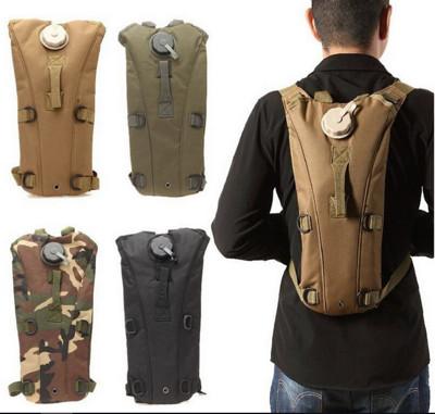 帆布戶外運動3L水袋背包 (5折)