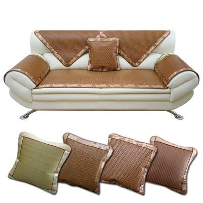 (四款)抗夏 冷涼墊【沙發涼蓆坐墊-三人座】涼蓆 涼墊 椅墊 沙發墊 (3.4折)