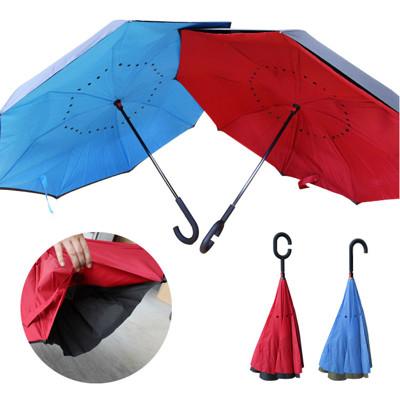 (C型/J型) 抗UV 反向傘 防雨防曬 一撐即反 反骨傘 (2.7折)