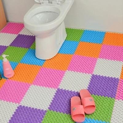 6色浴室多用途防滑踏墊DIY巧拼地墊 (3.9折)