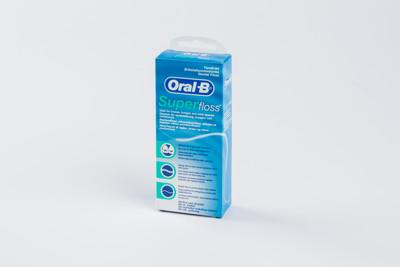 牙齒矯正 多功能牙線 歐樂B Oral-B 三合一牙線    (50入*1盒) (5.6折)