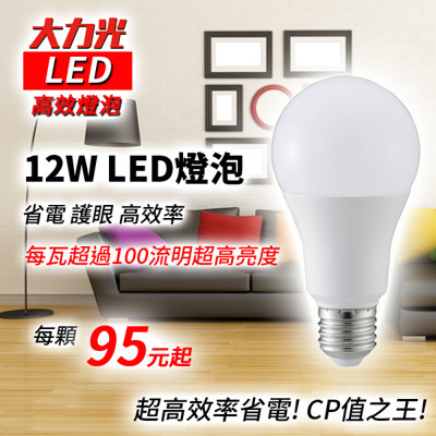 LED燈泡 12W (3.8折)