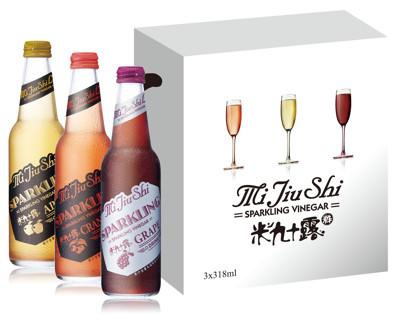 水果氣泡香檳醋飲 (5.8折)