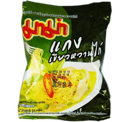 泰國人氣經典泡麵(綠咖哩) (5.3折)