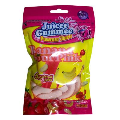 大小孩最愛捷克進口QQ軟糖-酸粉紅蕉 (5.8折)