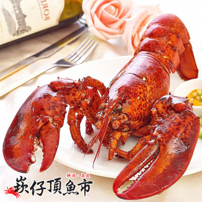 【崁仔頂魚市】加拿大熟凍波士頓龍蝦(420g/隻) (3.8折)