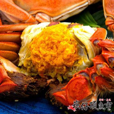 【崁仔頂魚市】江南鮮活大閘蟹(4.5兩~5兩/隻 不含繩重) (5.8折)
