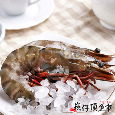 【崁仔頂魚市】鮮凍巨無霸草蝦(6隻/盒) (3.8折)