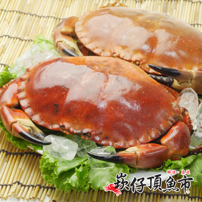 【崁仔頂魚市】英國霸王德文郡蟹(880g/隻) (3.8折)