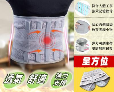 高彈力塑腰挺背護腰帶 (2.9折)