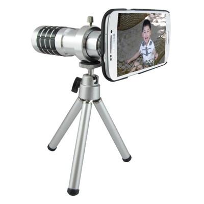 TS21銀砲管 Samsung S5(i9600/G900)專用型 望遠鏡頭組(12倍光學變焦) (2折)