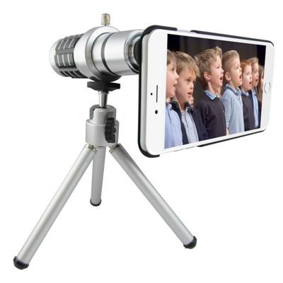 TS27銀砲管 iphone6(4.7吋)專用型 望遠鏡頭組(12倍光學變焦) (2折)