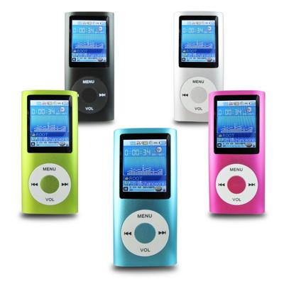 B1822四代蘋果 插卡式1.8吋彩色螢幕 MP4隨身聽(加16G記憶卡)(送三大好禮) (2.5折)