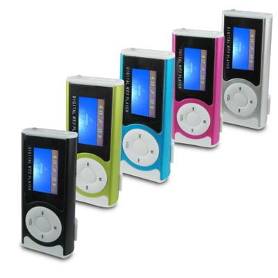 A32炫目LED款 螢幕插卡式MP3隨身聽(加8GB記憶卡)加送4大好禮 (2.5折)