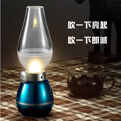 【HANLIN-LED04W】復古吹吹燈-可調光LED小夜燈 (3.7折)