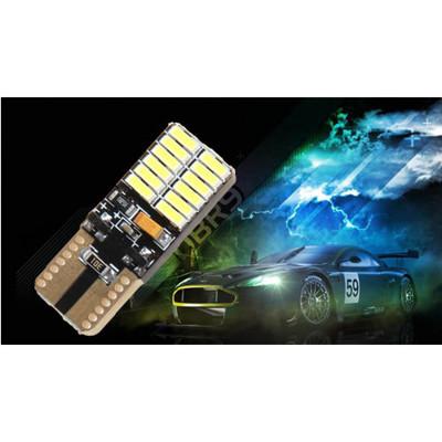 【HANLIN-DLS24-4014 】24顆爆亮LED車用解碼燈 (一盒2入) (3.8折)