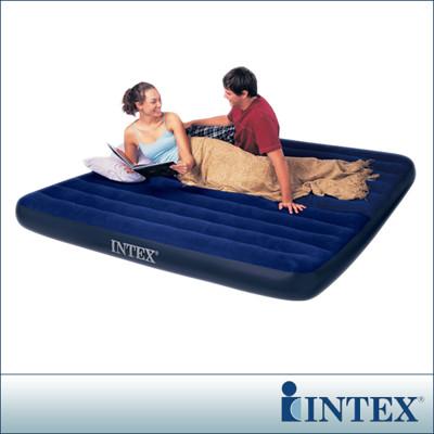 【INTEX】雙人超大型植絨充氣床墊(寬183CM) LC204-183(68755) (6.9折)