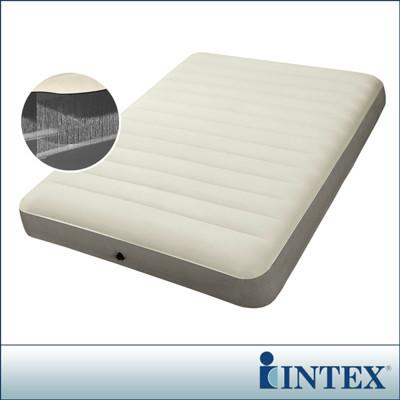 【INTEX】新型氣柱-雙人加大植絨充氣床墊 (寬152cm) LC285-152(64703) (7.5折)