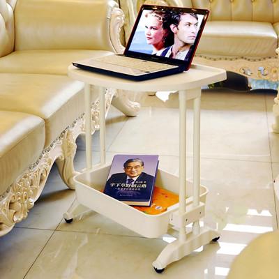 LIFECODE《悠活》二層可移動茶水桌/筆電桌/餐車 LC475 (7折)