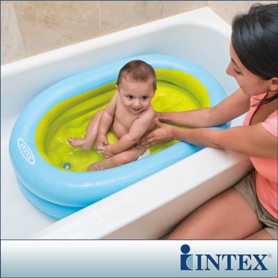 【INTEX】外出用-幼兒充氣浴盆/浴池 LC233(48421) (6.9折)