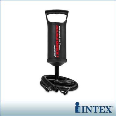 【INTEX】手壓充氣幫浦/打氣筒-高29cm(充氣商品加購品) LC235(68612) (6.9折)