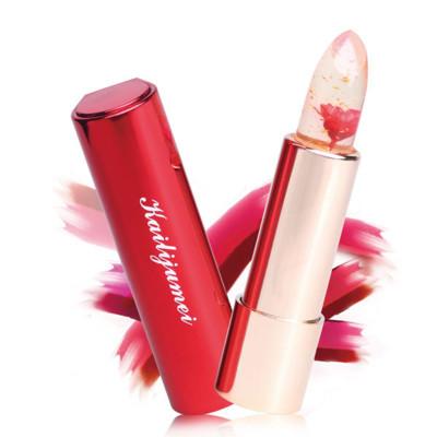 Kaili Jumei 凱莉聚美 金箔花朵變色口红唇膏 護唇膏 3.8g 多款可選【櫻桃飾品】 (6.3折)