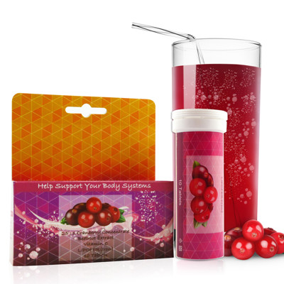 【Candice】康迪斯高濃縮蔓越莓發泡錠(10錠/盒) 25倍濃縮蔓越莓精華,私密保養 (1.5折)