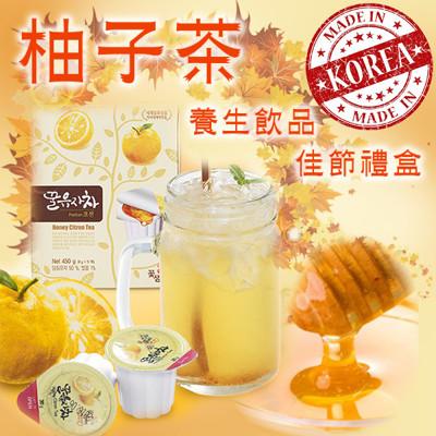 【韓國進口】膠囊蜂蜜柚子茶禮盒 (7.4折)