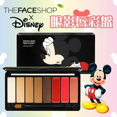 韓國正品【The Face Shop】迪士尼聯名眼影唇彩盤 (7.1折)