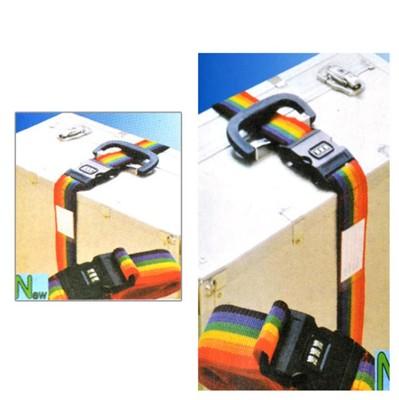 行李箱密碼鎖束帶三件組 行李箱鎖 (3.8折)