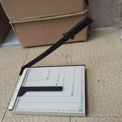 A4 金屬座版裁紙機 A4規(33*25CM)A4裁紙機A4金屬裁刀 裁刀 裁紙器 (6.6折)