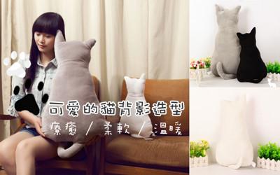超療癒貓咪舒適靠墊小抱枕 (2.3折)