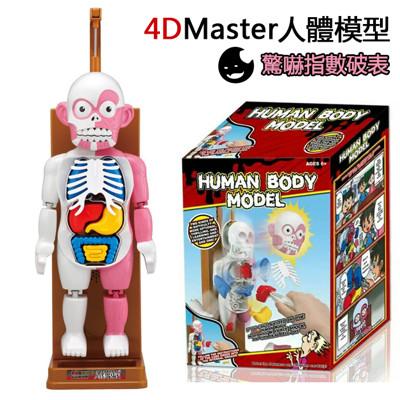 4D master人體拼裝模型人體模型桌遊 (7折)