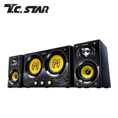 TCSTAR 電競遊戲音響 三件式重低音喇叭 TCS3300 (9折)