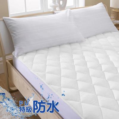 【床邊故事】PU特級防水保潔墊-雙人加大6尺-平單式 (4.8折)