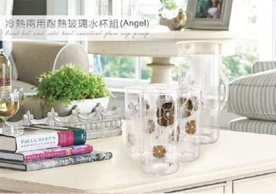 冷熱兩用耐熱玻璃水壺杯組 (任選) (2.8折)
