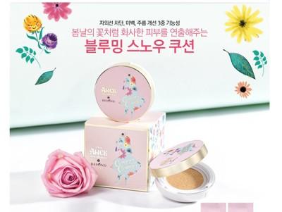 韓國BEYOND x ALICE愛麗絲春日幻境氣墊粉餅(本品粉蕊15g*1) (3.8折)
