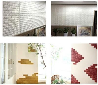 升級3D隔音超大款泡棉磚壁貼 (3.1折)