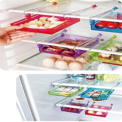 韓版 冰箱抽拉式收納箱收納盒-大特價 (2.2折)